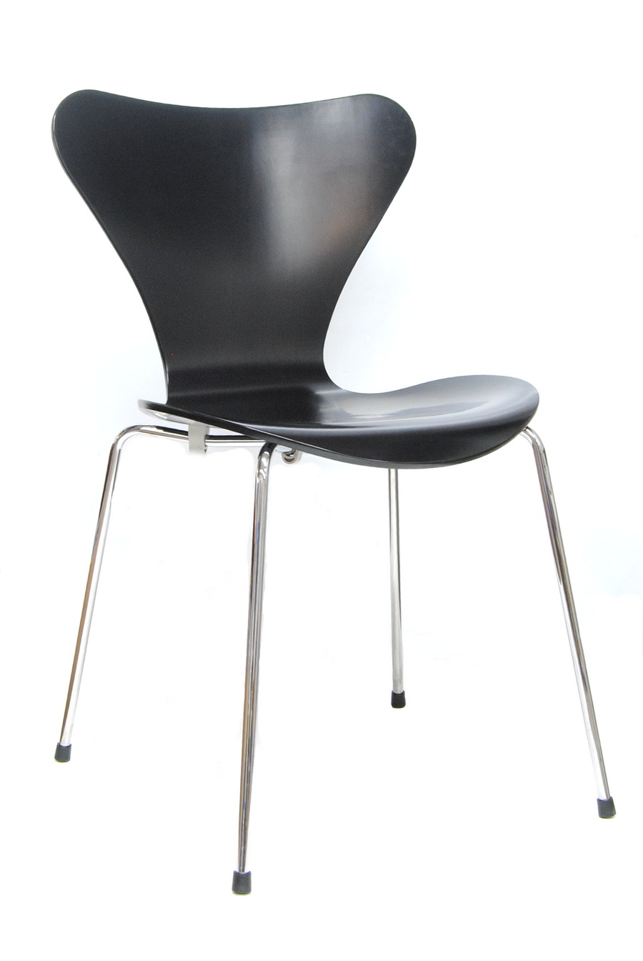 fritz hansen designer stuhl serie 7 schwarz arne jacobsen 3107 ebay. Black Bedroom Furniture Sets. Home Design Ideas
