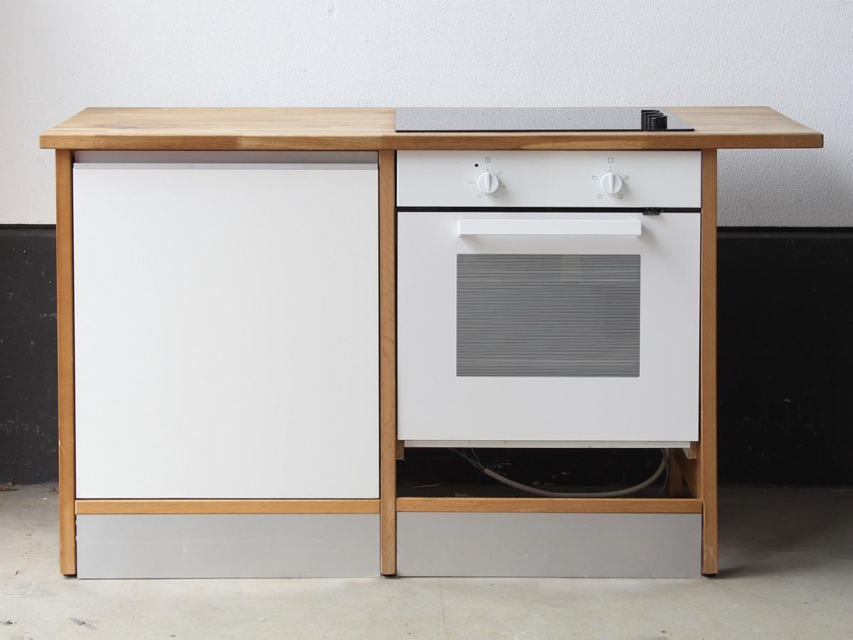 Küchenblock von IKEA mit Lagan Backofen und Kochfeld // Bravad | eBay