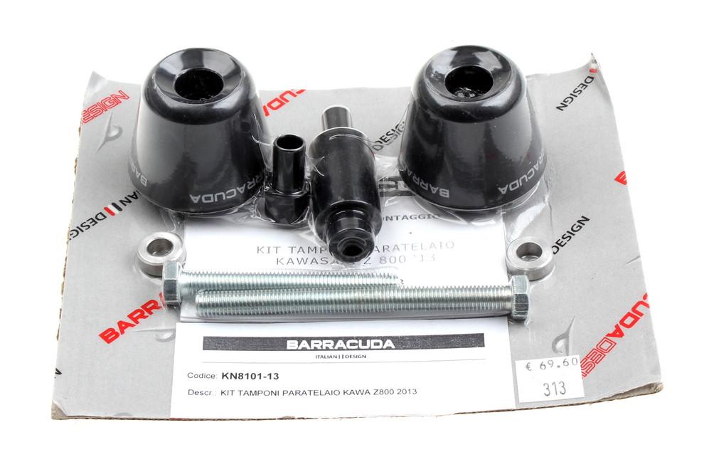 Barracuda Sturzpads für Kawasaki Z 800 // Schwarz // KN8101-13 | eBay